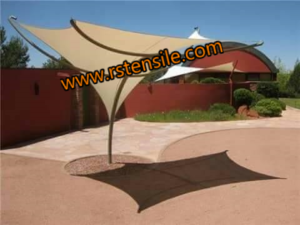 Inverted Conical Tensile Structure Manufacturer